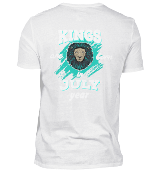 kings are born in july back