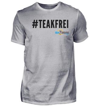 #Teakfrei schwarz - Shirts & Pullover