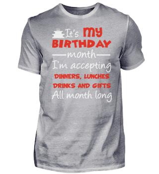 IT S MY BIRTHDAY MONTH