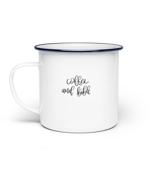 coffee and bible Tasse