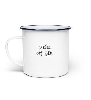 coffee and bible Tasse