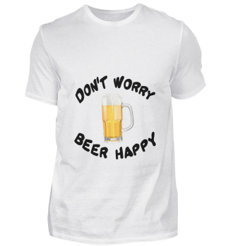 D010-0359B Bier - Don't worry Beer happy