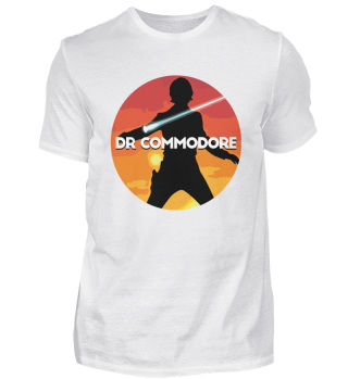 T-shirt Official DrCommodore