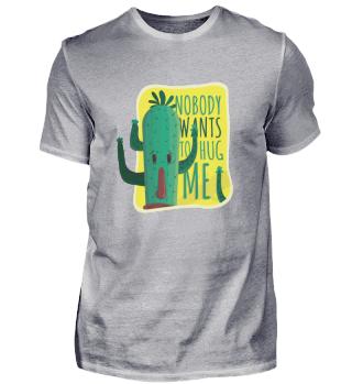 No Hug Cactus Sad