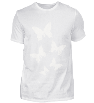 BUTTERFLY   RETRO WHITE