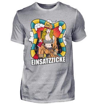 Feuerwehr Feuerwehrfrau Einsatzzicke