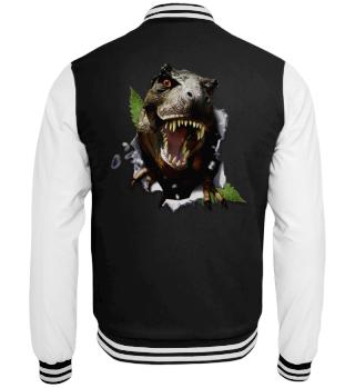 College Jacke T-Rex