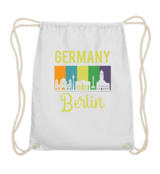 Germany Brandenbuerger Tor Berlin Skylin