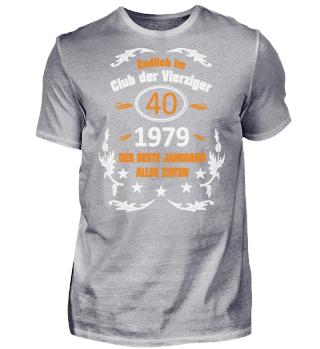 40. Geburtstag Club der Vierziger