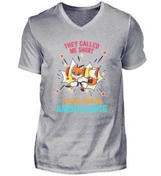 Karate Squirrel strong Ambulance