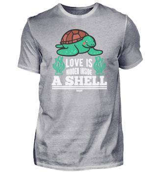 Meeresschildkröte schwimmt im Ozean