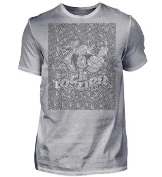 Rockzipfl Fan Shirt Used-Look