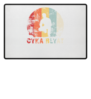 CYKA BLYAT VINTAGE - Funny Russian Gift