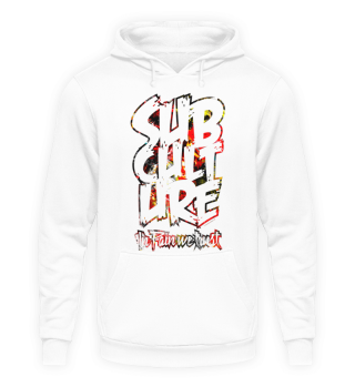 Subculture Hoodie Pain Color