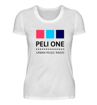 PELI ONE Logo-T-Shirts Damen