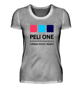 PELI ONE Logo-T-Shirts Damen