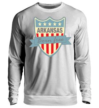 Herren Langarm Shirt Arkansas Ramirez
