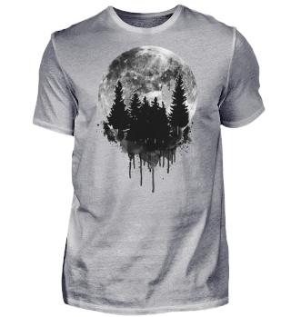 T-Shirt Herren Zerrinnender Traum