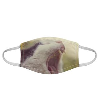 Gesichtsmaske mit Katzenmotiv 20.13