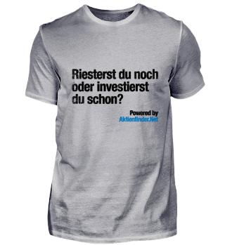 Riestern oder Investieren s/w