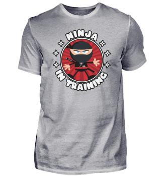 Lustiger Ninja für Kinder, Nerds und