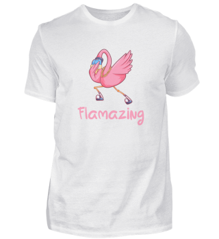 Flamazing dabbing Flamingo Geschenk