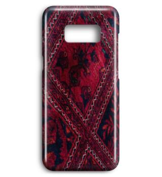 Roter Teppich orientalisch ornamental Smartphone