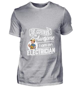 D001-0177A Proud Electrician Elektriker
