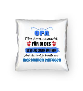 OPA - Mia ham versuacht ...