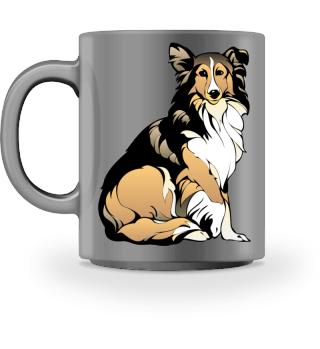 Frauchens Trinknapf Kaffeetasse Hund