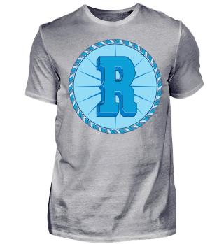Herren Kurzarm T-Shirt R Coin Ramirez