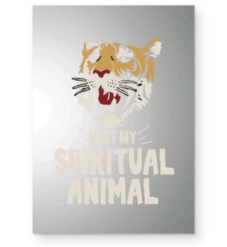 Meet my spiritual Animal Tiger