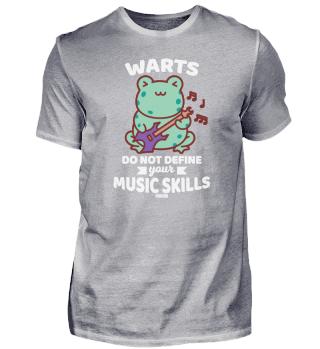 Frog music guitar animal
