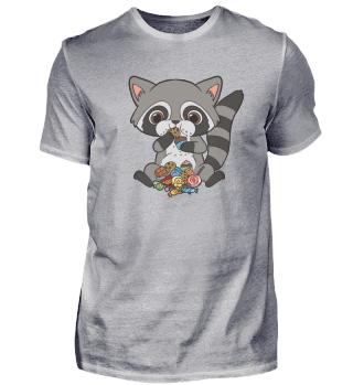 Raccoon Sweet Tooth Candy Dance