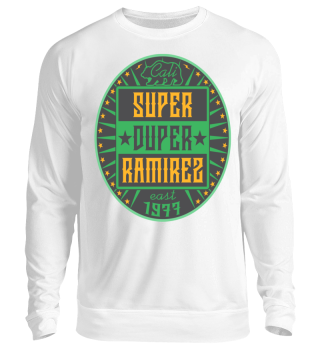 Herren Langarm Shirt Super Duper Ramirez
