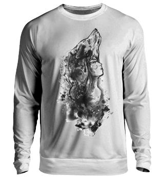 Wolfsfrau Sweatshirt