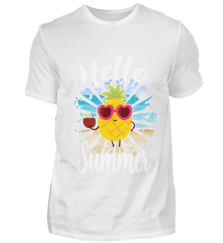 Hello summer ananas funny