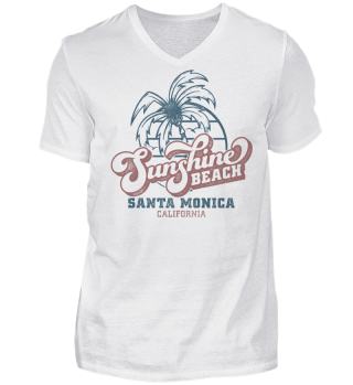 Sunshine Beach Santa Monica - VNeck