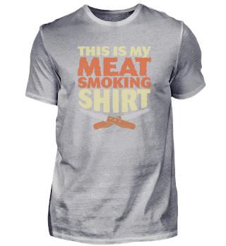 Lustiges Räucher-Fleisch für BBQ