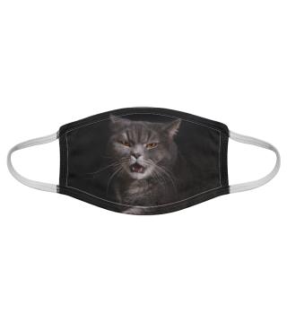 Gesichtsmaske mit Katzenmotiv 20.61
