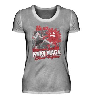 Krav Maga Woman we fight corona