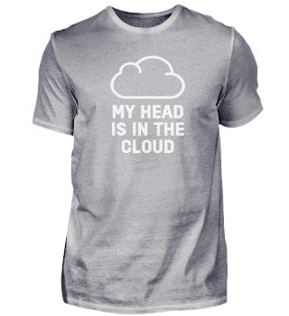My Head Is In The Cloud Computer Nerd