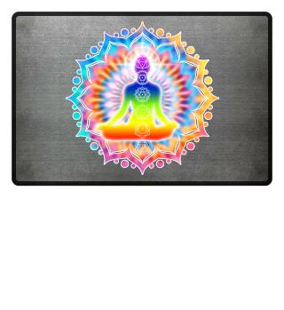 Yoga Lotus Chakra Meditation I Frau