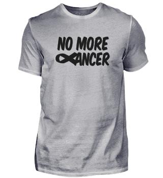 No more cancer ribbon logo design