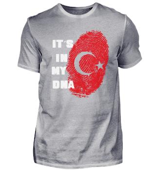 ITS IN MY DNA TÜRKEI TÜRKISCHE FLAGGE FAHNE TÜRK BAYRAK
