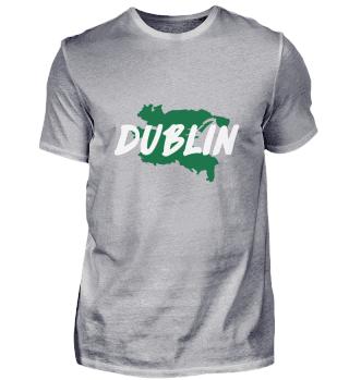 Dublin Flag Ireland Map Irish Good