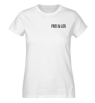 Shirt Damen - frei & los beidseitig