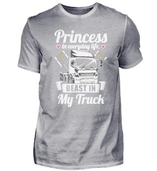 Female Truck driver - Princess