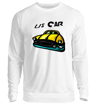 US yellow Car