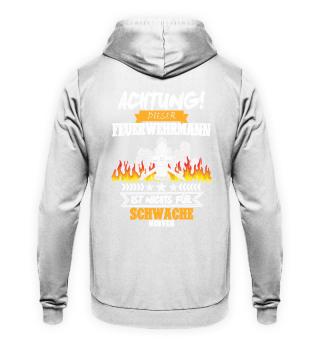 Feuerwehrmann · Achtung